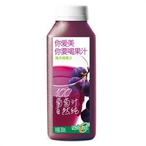 味全每日C纯果汁(葡萄)300ml