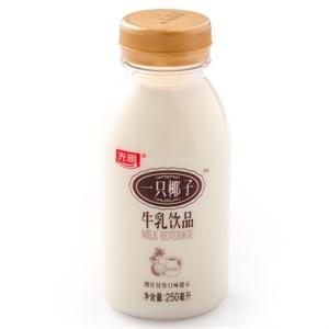 光明一只椰子牛乳饮品250ml