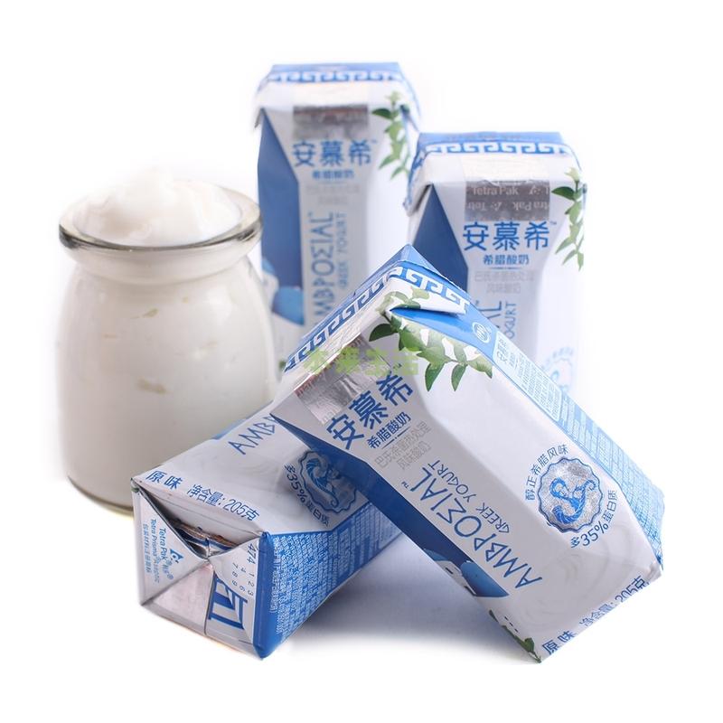 伊利 安慕希 希腊酸奶12*205g