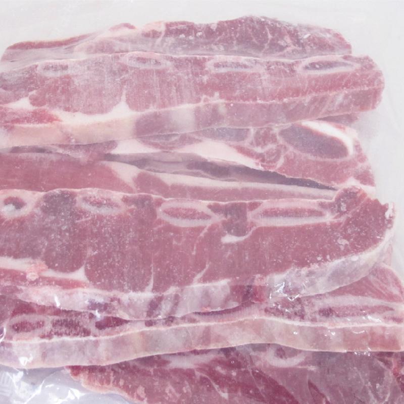 牛肉生鲜冷冻牛仔骨牛排1kg原味非腌制牛小排 清真谷饲排酸