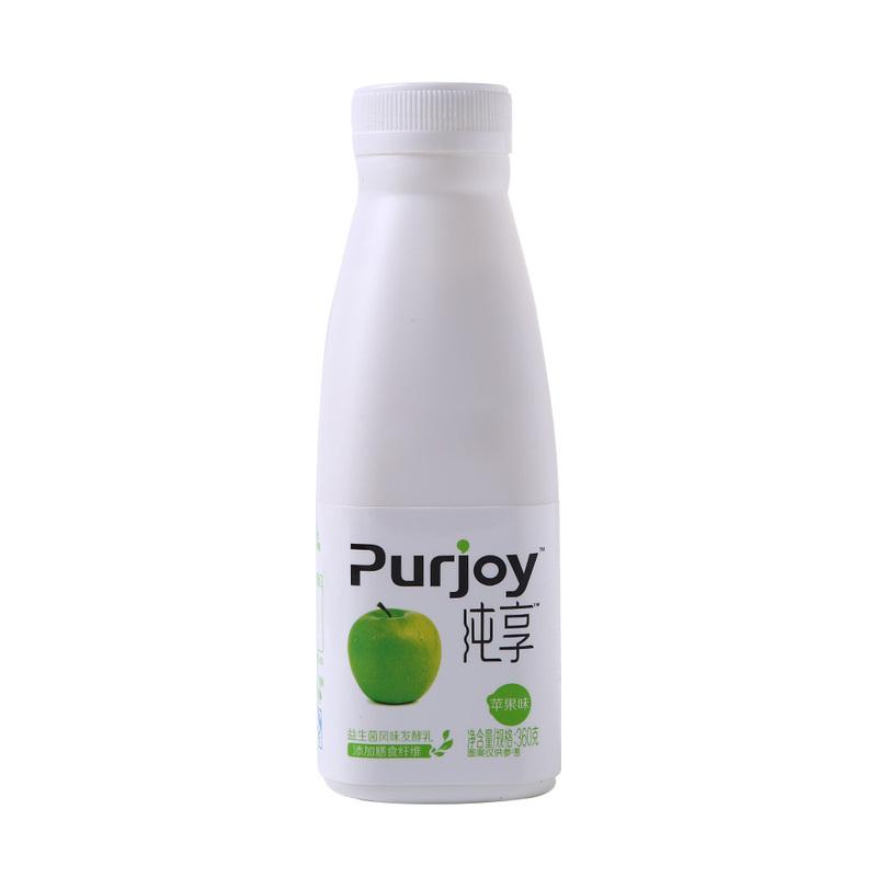 君乐宝纯享益生菌风味发酵乳(苹果味)360g
