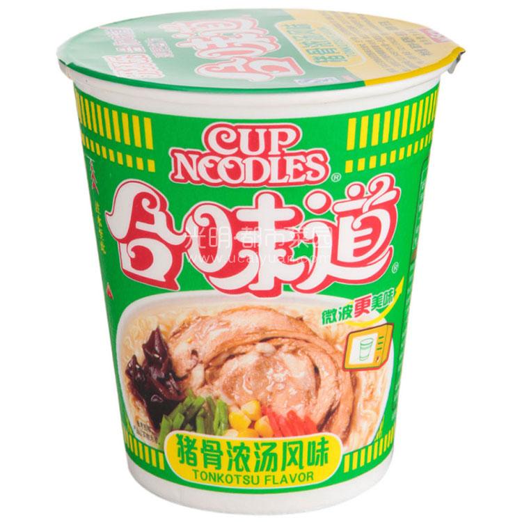 日清 合味道(猪骨浓汤风味)86g