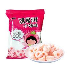 张君雅 草莓味甜甜圈40g