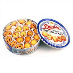 Danisa皇冠 丹麦曲奇饼干 908g 印尼进口 礼盒装