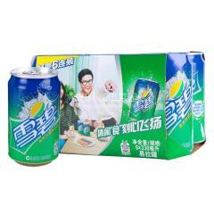 雪碧 清爽柠檬味汽水 330ml*6听