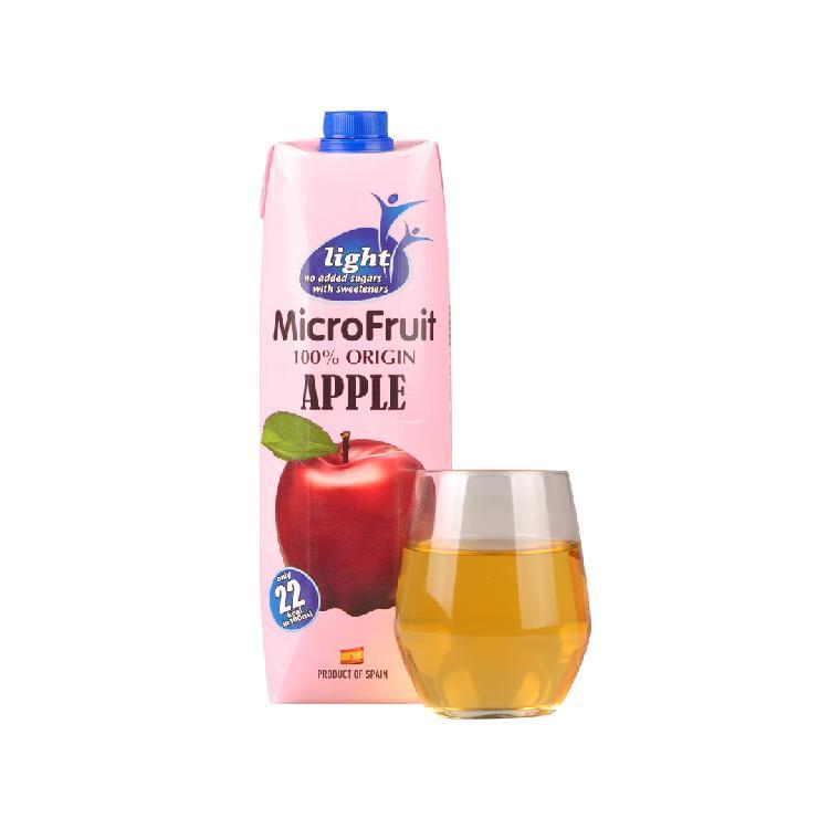 微果 苹果汁饮料 1L