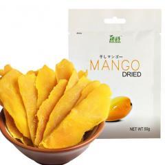 越南进口TATA榙榙芒果干50g/包休闲零食蜜饯果干