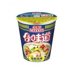 NISSIN日清泡面 合味道海鲜风味84g/杯 速食方便面
