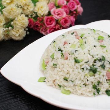 青菜咸肉炒饭