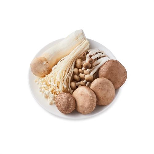 精选蘑菇四拼500g